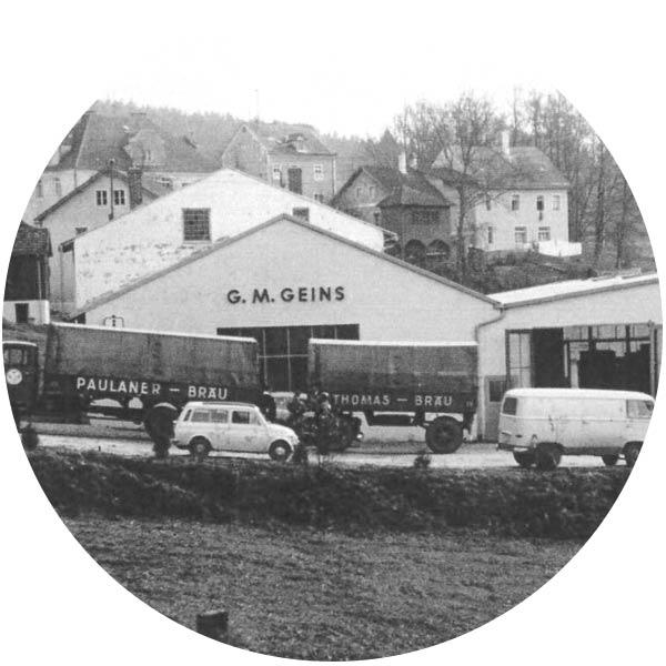 Getränke Geins - Historie - 1968