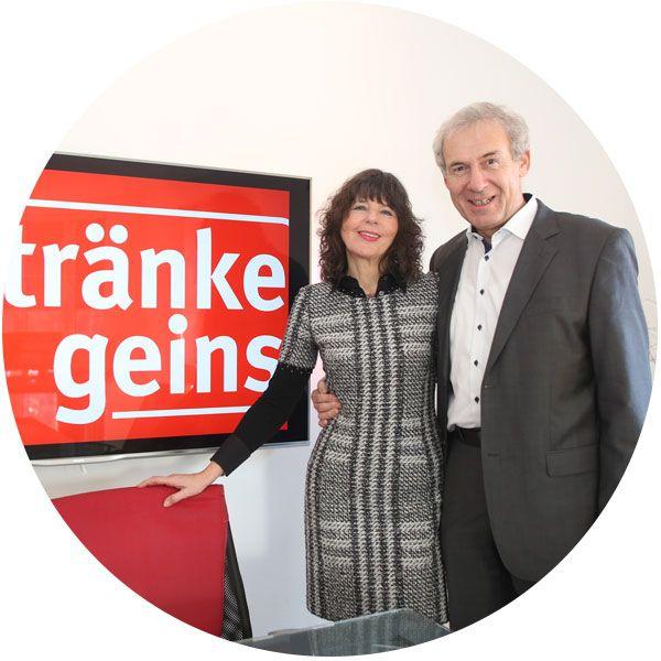 Getränke Geins - Unternehmen Historie - Wolfgang Geins - Bärbel Geins